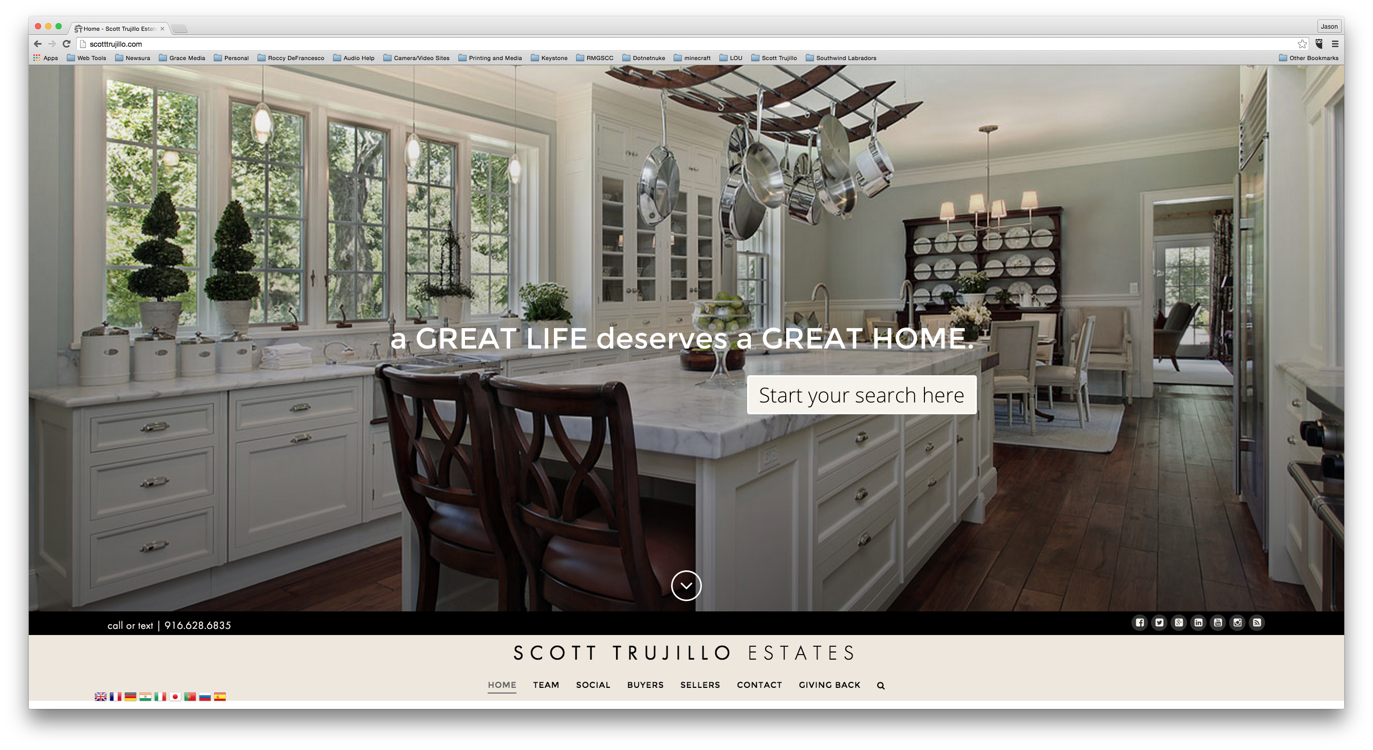 Latest Project: Scott Trujillo Estates