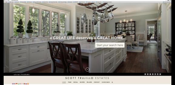 Latest Project: Scott Trujillo Estates